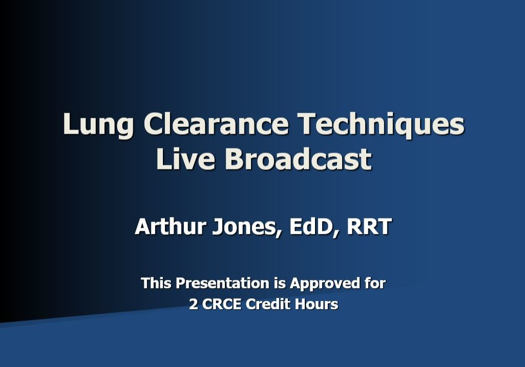 LCT Live Broadcast AJ Title Page