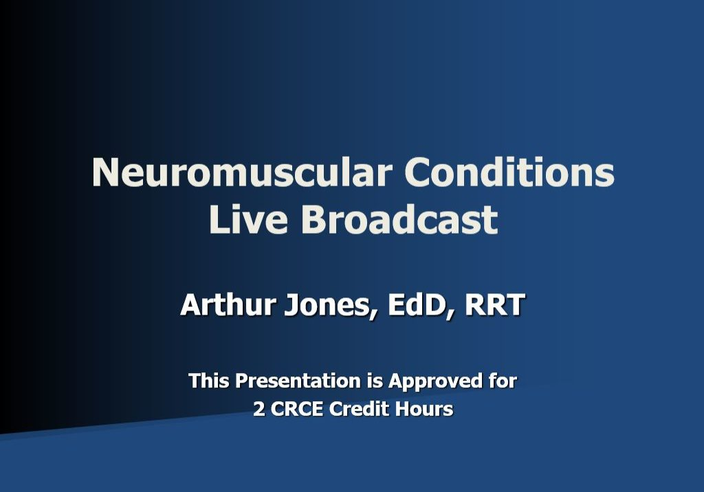 Neuromuscular Live Broadcast Title Page