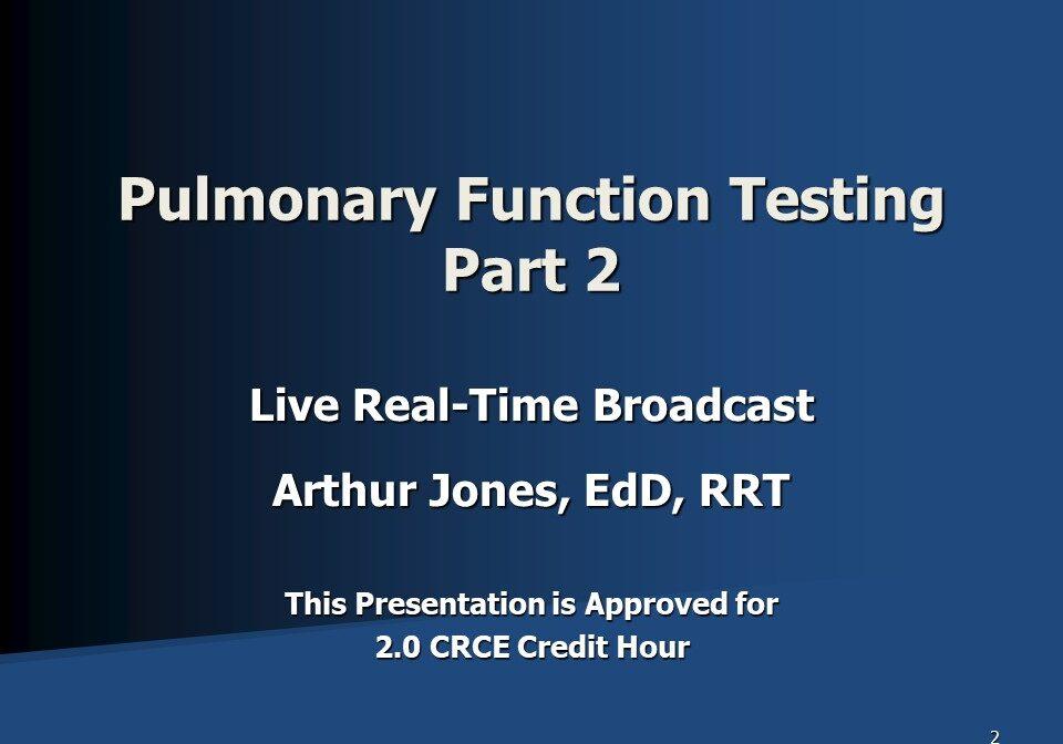 PFT Part 2 Broadcast